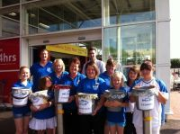 Tesco March customers raise £429 for March Marlins