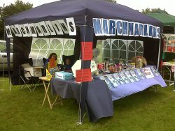 A successful day for the March Marlins stall at Manea Gala